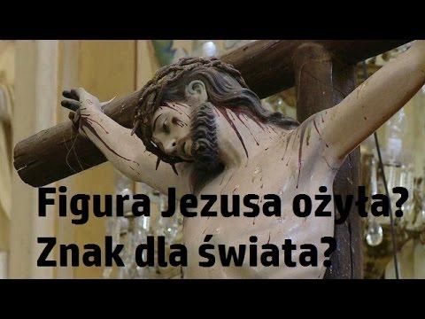 Posąg Jezusa na krzyżu ożył podczas Mszy!? Znak dla świata?