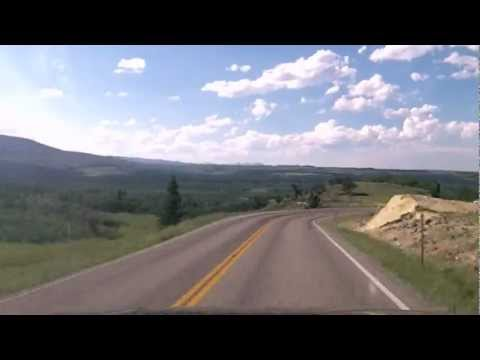 Drivelapse -  Browning, MT to Glacier National Park