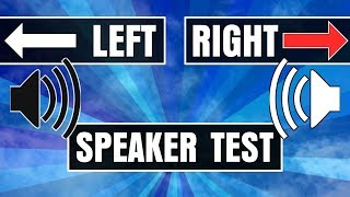 Speaker Headphones Left And Right Test: Are They Connected Correctly?