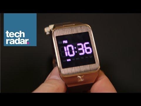 Samsung Gear 2 smartwatch hands on first look (Galaxy Gear 2)   MWC 2014