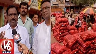 Special Report On Onion Prices And Sale In Hyderabad City