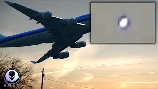 SPEECHLESS! UFO Appears Over 2 Chemtrail Spraying Planes! 6/14/2015