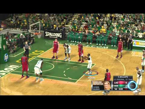 NBA 2K12: Why So Early? LA Clippers Vs. Boston Celtics Online Quick Match