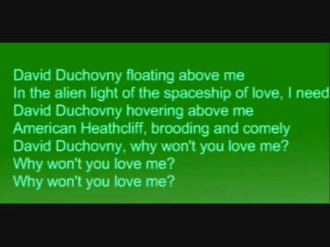 Bree Sharp - David Duchovny Lyrics