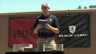 1911-380 - Winchester's Mike Stock and the FBI ammo test - 1:26