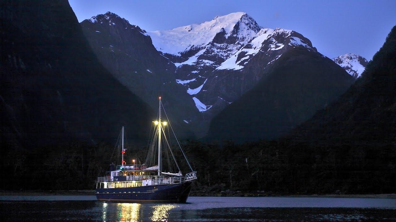 Milford Sound Overnight Cruises Real Journeys Fiordland