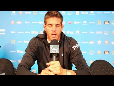 Sydney 2015 Del Potro Tuesday Interview Spanish
