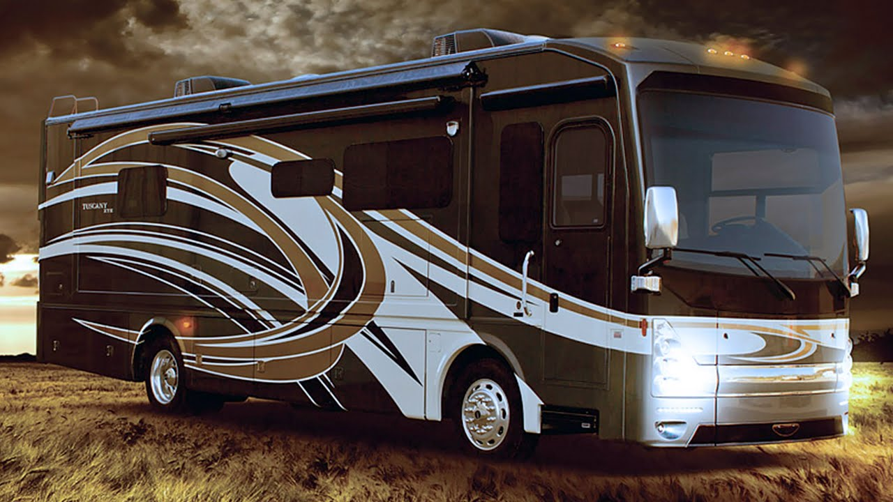 Diesel Motorhome Reviews 2015 Tuscany Xte Class A Luxury Rvs Youtube