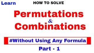 Permutations And Combinations Tricks for SBI Bank PO In Hindi Part 1