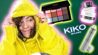 Lange drauf gewartet 😝 KIKO Milano Makeup ☕️ Full face Using Kiko Makeup Only 😳 Hatice Schmidt