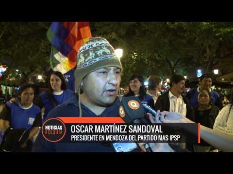 Mas el partido de Evo Morales ganó las elecciones bolivianas en Mendoza con el 90%