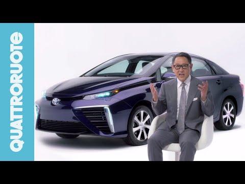Toyota Mirai, l'auto a idrogeno del futuro - Premiere Quattroruote