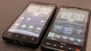 HTC EVO 4G and HD2 Comparison