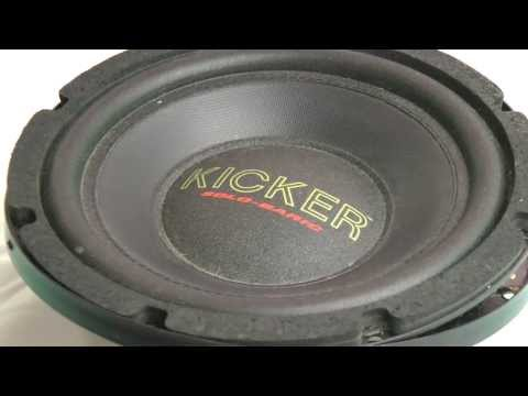 Kicker Solo Baric S8 Subwoofer The First Generation Solobaric 1992