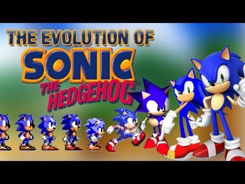 The Evolution Of Sonic The Hedgehog video