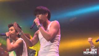 [FANCAM] 2nd Invasion Encore 120401 Be Mine Woo Hyun (1)