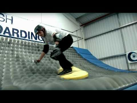 BrushBoarding 2010 with green screen technology and new events Shipping container Brush Ramp.