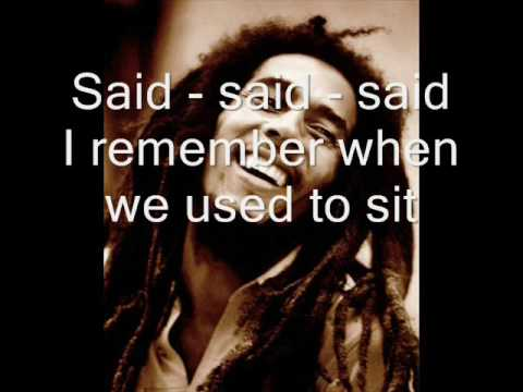 bob marley no woman no cry with lyrics