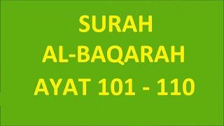 Albaqarah Ayat 101 110