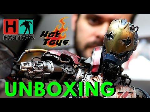 HOT TOYS Menos Valorados! ULTRON MARK 1 Iron Man Avengers UNBOXING Habi Toys