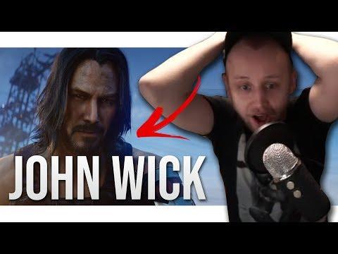Download Agraelus reaguje na Keanu Reeves John Wick  v Cyberpunk 2077 Mp4 baru