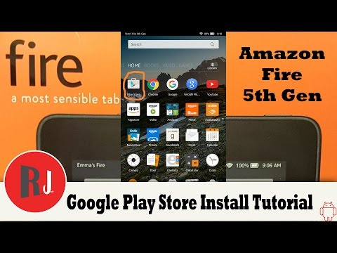 how to download google play services on amazon fire tablet