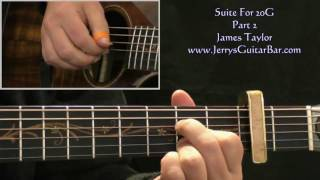 Watch James Taylor Suite For 20g video