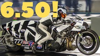 FAST WOMEN FACE OFF! NITROUS GS DRAG BIKE vs. NHRA PRO STOCK MOTORCYCLE, PRO MOD KAWASAKI KZ TURBO