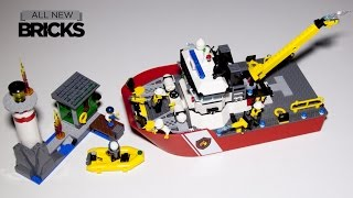 Lego City 60109 Fire Boat Speed Build