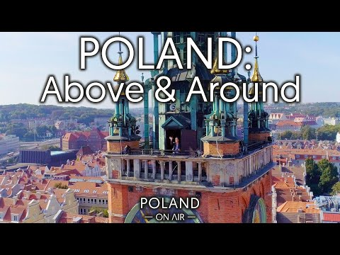 Poland: Above & Around | 4K | POLAND ON AIR By Maciej Margas & Aleksandra Łogusz