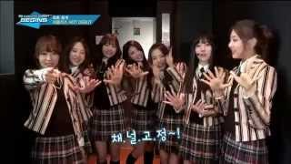 [ENG] 141113 Lovelyz - M!Countdown Begins & Backstage