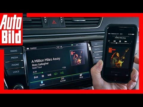 Quick Shot: Anleitung CarPlay Und Android Auto Im Skoda Superb