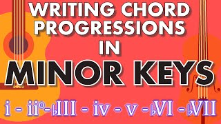 How to write Chords and Songs in Minor [Songwriting Basics / Music Theory]