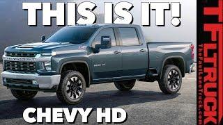 2020 Chevy Silverado HD: You Won't Believe The Way It Looks!