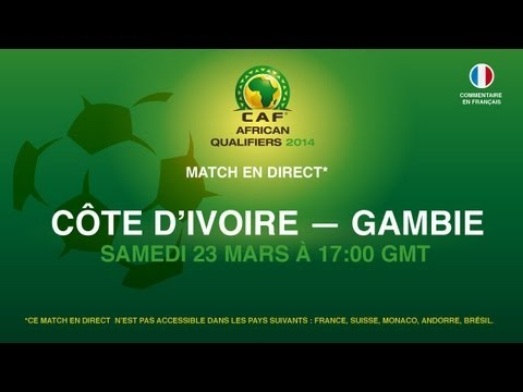 Côte d'Ivoire 3 - 0 Gambie | CAF African Qualifiers 2014 | 23.03.2013