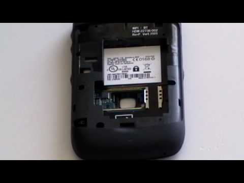 Blackberry Curve 8520 8530 Trackpad Take Apart Repair / Replace Guide