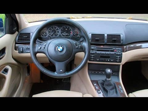 BMW E46 3-Series Steering Wheel/Air Bag Install/Removal