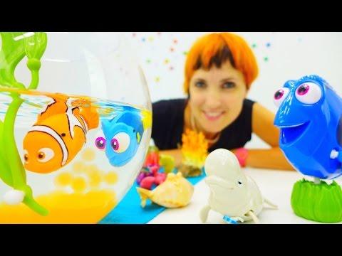 Игрушки Немо и Дори - Бассейн с шариками орбиз