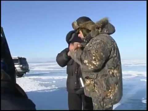 ловля хариуса в январе видео
