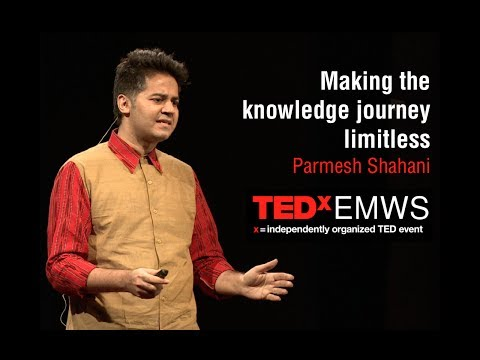 Making the knowledge journey limitless (TEDxEMWS)