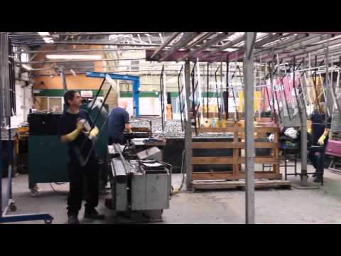 Custom Glass Production Video