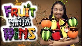Fruit Ninja Wins! The entire mini set! - Claw Machine Wins