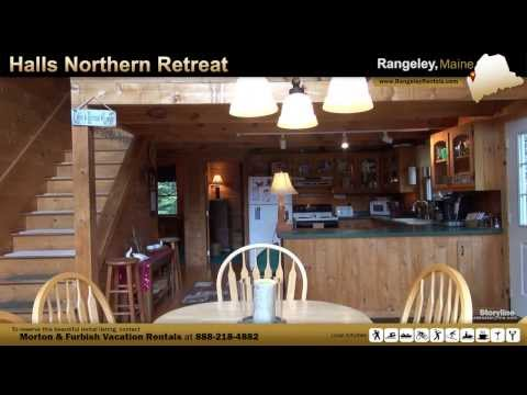 Vacation Rental in Rangeley, ME - Halls Northern Retreat