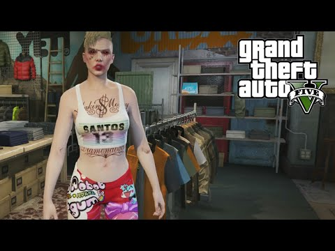 MILEY CYRUS MAKE OVER (GTA 5 on PS4)