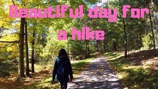 Hiking Hofma Preserve