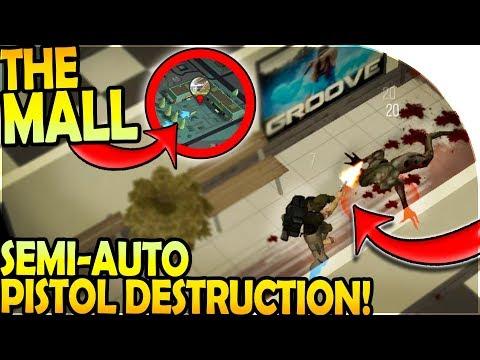 THE MALL - SEMI-AUTO PISTOL DESTRUCTION! - Prey Day Survival Gameplay