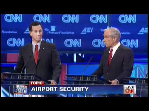 Ron Paul On Who Should Be Profiled As A Terrorist(11/22/2011 CNN Debate)