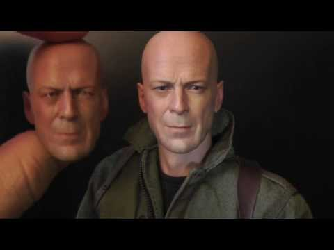 Hot Toys Bruce Willis Joe Colton G.I.Joe  figure review