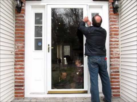 Anderson Storm Door Installation Wmv Youtube
