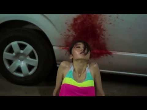 Japanese Girl Gets Shot In The Face Horror Movie - 1 Second Film - video